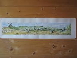 fresque carrelage mural décor fresque céramiques du beaujolais faïences et terre cuite