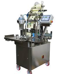 manual label applicator machine semi auto pressure sensitive rotary bottle label machine
