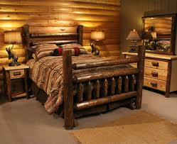 Cabin Bedroom Furniture Log Bedroom Bedroom Log Cabins House Pinterest Bedroom Log Cabin