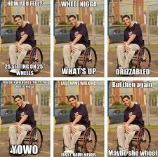 Drake Wheelchair Meme - ranking every drake meme starting from the bottom yolo drake