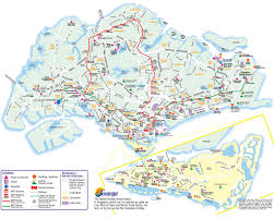 studio city map about singapore city mrt tourism map and holidays detail