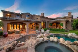 custom golf course home for sale in dc ranch north scottsdale