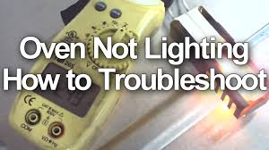 how to light a whirlpool gas oven gas stove oven not working or how to troubleshoot igniter