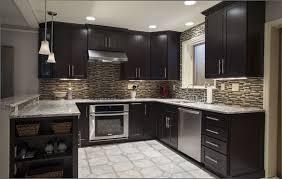 Espresso Colored Kitchen Cabinets Black And Brown Kitchen Cabinets Brown And Green Kitchen Kitchens