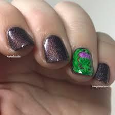 Nails Knocked Out Barely Breathing Inside Mlb Star - ashley is polishaddicted scottish thistle nail art