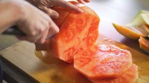 different ways to cut the ends of your hair how to cut a watermelon slicing watermelon made simple
