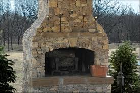 Stacked Stone Around Fireplace by Interiors Stone Fireplaces Dry Stack Stone Fireplace Fireplace