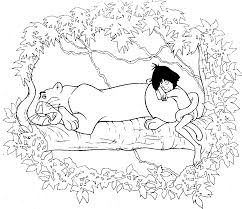 jungle book coloring pages best coloring pages for kids