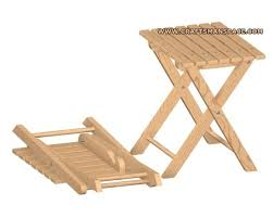 Free Woodworking Plans Folding Picnic Table by Best 25 Folding Stool Ideas On Pinterest Wood Joints Ikea Flat