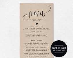 wedding menu latest wedding ideas photos gallery