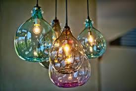 Blown Glass Pendant Lights Pendant Lights Lighting Style Ideas Blown Glass Pendant