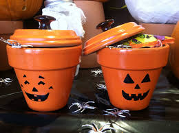 Halloween Candy Jars by One Wall At A Time Pinterest Challenge 8 Pumpkin Candy Jars