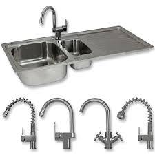leisure proline pl9852l 1 5 bowl 1th stainless steel inset 1 5 bowl kitchen sink reginox white ceramic 1 5 bowl kitchen sink