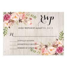 floral wedding invitations u0026 announcements zazzle co uk
