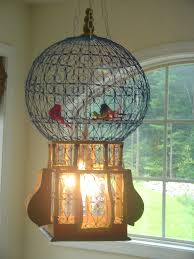 How To Make A Birdcage Chandelier Birdcage Chandelier Curio Lair