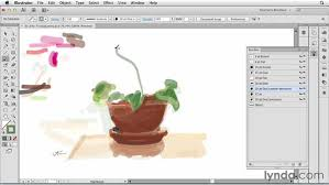 creating transparent washes and watercolor effects