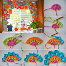 wonderful diy crochet lace rose flower decorating crochet and 5 amazing ideas to decorate your home with crochet http www