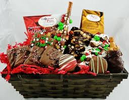 christmas gift baskets christmas gift basket chocolate pizza slices gourmet chocolate