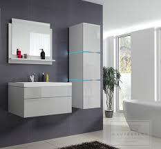 Schlafzimmer Set Mit Led Beleuchtung Kaufexpert Badmöbel Set Lux 1 Weiß Hochglanz Keramik Waschbecken