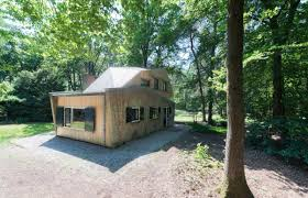 netherlands modern holiday house in the forest design milk