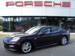 Porsche Panamera Blacked Out - 2010 porsche panamera s in mahogany metallic with cognac interior