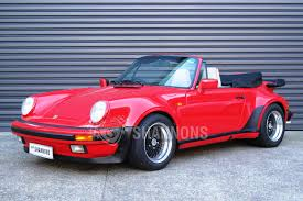 Porsche 911 Convertible - sold porsche 911 carrera 3 2 convertible auctions lot 18 shannons