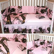 you had me at camo pink camo crib set made with mossy oak