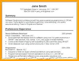 summary on a resume exles functional summary resume exles