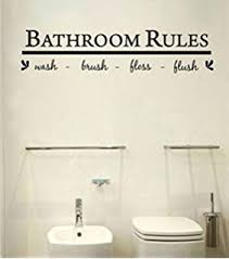 Funny Bathroom Pics Amazon Com Live Laugh Funny Bathroom Vinyl Wall Decal Wall