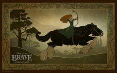 pixar brave 2012 wallpapers king fergus fighting a bear brave pixar feature films