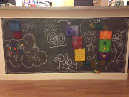 Kids Chalkboard And Magnet Wall DIY A Moms Take - Magnetic boards for kids rooms