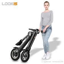 newest model 2017 e bike folding scooter 2016 newest model 25kmh 8 8ah
