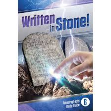 written in stone bible study guides amazing facts