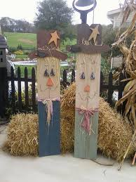 Homemade Scarecrow Decoration Pallet Scarecrow Halloween Fall Pinterest Scarecrows