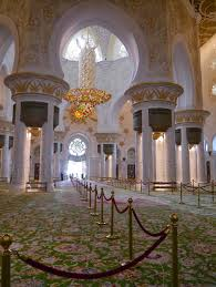 Largest Chandelier Mosque Visit La Vie Boheme Travel
