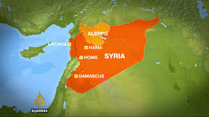 Syria Fighting Map by Syrian Troops Launch Major Ground Assault For Aleppo News From