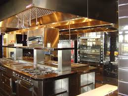 kitchen impressive restaurant kitchen design bar storage