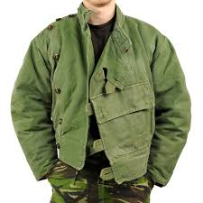 swedish army vintage heavyweight cold weather motorcycle jacket