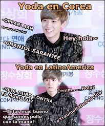 Funny Memes Espaã Ol - resultado de imagen para memes de kpop exo en espa祓ol kpop