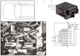 relay for glow plug k2283 bmw 5 u0027 e39 530d m57 europe