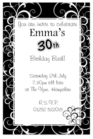 template lovely elegant 50th birthday invitation cards with