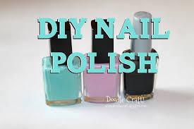 diy make your own nail polish coloured youtube