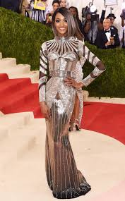 jordan dunn silver hair jourdan dunn from met gala 2016 best dressed stars e news