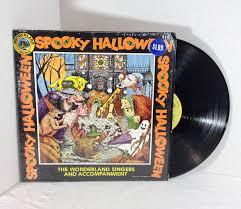 spooky halloween vintage vinyl record lp album oop 70 u0027s