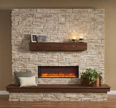 decor custom linear electric fireplaces with stone wallpaper design custom linear electric fireplaces with stone wallpaper design