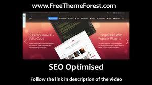 free the 7 wordpress theme youtube