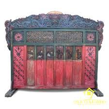 Antique Room Divider by Javanese Antique Room Divider Mahabharata Javateakindo