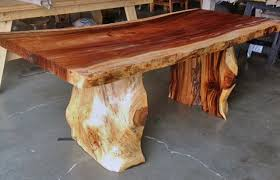 tree trunk dining table teak tree trunk dining table dining table design ideas