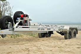 offroad trailer amm develops extra heavy duty off road trailer boatadvice