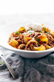 slow cooker beef ragu with pappardelle recipe pinch of yum